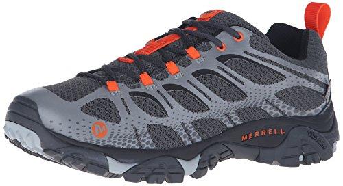 Merrell Moab Edge Waterproof, Zapatillas de Senderismo para Hombre Gris (Grey)