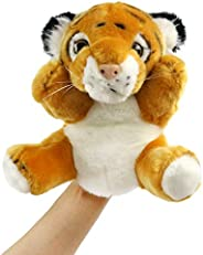 SpecialYou Animal Hand Puppet Lovely Plush Panda Hand Puppets Interactive Preschool Furry Toy Birthday for Tod