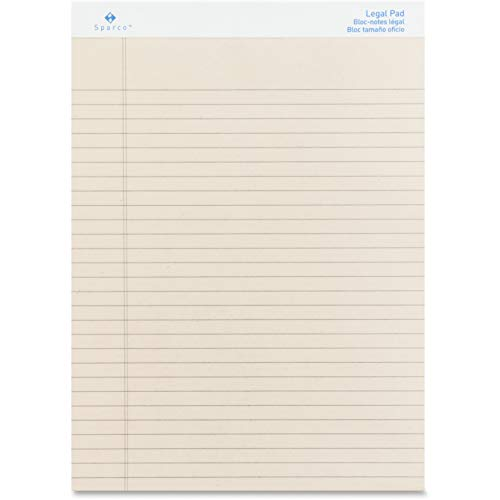 (SPR01074 - Sparco Ivory Ruled Legal Pad)