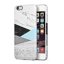 Grey Wood, Black & White Marble, Concrete Blocks Hard Plastic Phone Case For iPhone 6 & iPhone 6s