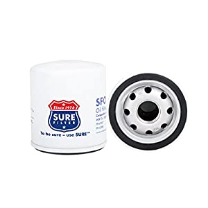 Sure Filter SFO4477 Oil filter replacement for Toyota 90915-YZZF1