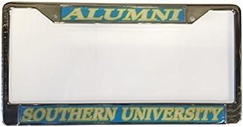 Craftique Southern University Alumni Plate Frame Domed