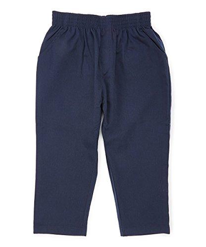 unik Boy's Uniform All Elastic Waist Pull-on Pants Extra Husky Navy 8 by unik