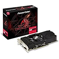 PowerColor Red Dragon Radeon RX 560 4GB 128-Bit GDDR5 PCI Express 3.0 ATX Video Card