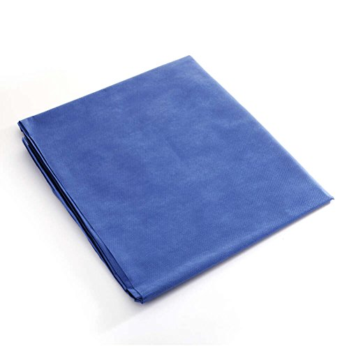 MediChoice Drape Sheets, Stretcher, Non Woven Repels Fluid, Spunbond Meltblown Spunbond, 40 Inch x 90 Inch, Blue (Case of 50) by MediChoice (Image #3)
