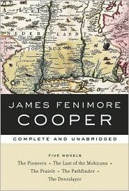 James Fenimore Cooper's Five Novels: Complete and Unabridged