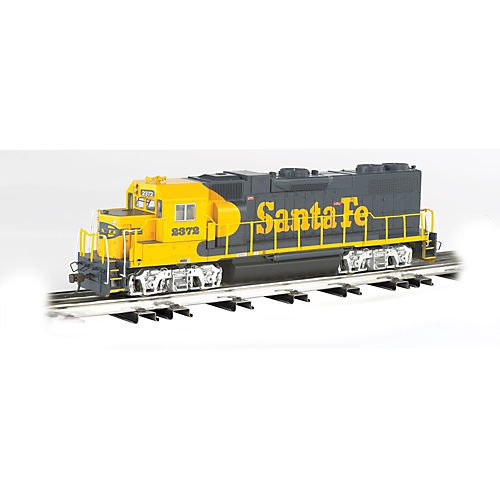 Bachmann Industries General Motors GP 38 Scale Diesel Locomotive Santa Fe 2372 O Scale Train