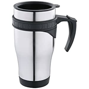 Scanpart Universal Coffee to go - Taza térmica para café o té, 450 ml, acero inoxidable