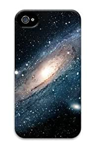 Beautiful Galaxy Iphone 4 4S Hard Protective 3D Cover Case by Lilyshouse
