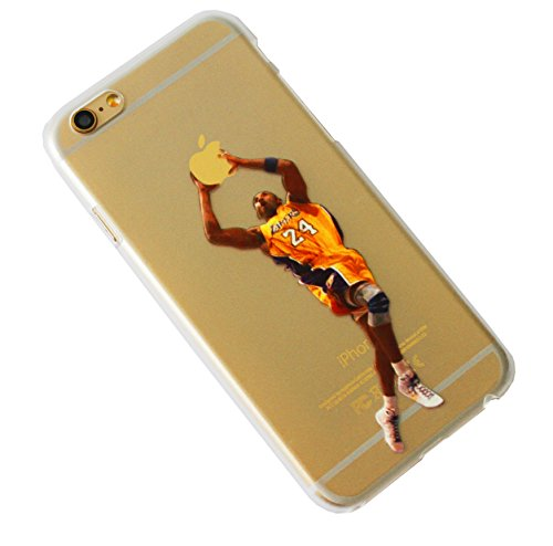 Kobe Bryant Dunk Transparent Case for iPhone 6 and iPhone 6s los angeles  lakers (Kobe Dunk)