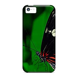 AnnaDubois Iphone 5c High Quality Hard Phone Cases Support Personal Customs Stylish Butterfly Pattern [rKK6262xaEy]