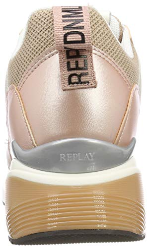Beige Femme Replay Sneakers Basses Theme nude 1738 wtIW7q