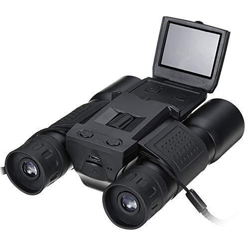 EGCLJ Binoculars Telescope - 12X HD Digital Camera - with Recording Function - 1080P 5MP Camera Telescope by EGCLJ