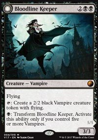 Bloodline Keeper // Lord of Lineage - Foil - From the Vault: Transform