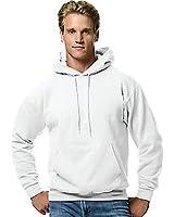 Hanes Men's ComfortBlend Pullover Hoodie Sweatshirt (2 Pack),White,L US