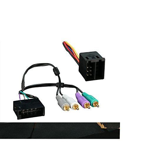Metra 70-9400 Radio Wiring Harness for Land Rover/Discovery