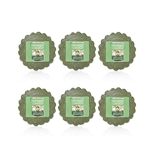 - Yankee Candle Snow-Dusted Bayberry Leaf Tarts Wax Melt (Pack of 6)