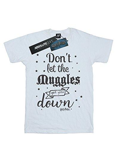 No Muggles Potter camiseta la que acerque blanca de dejes Harry se Little Mujer de CtxBPq0