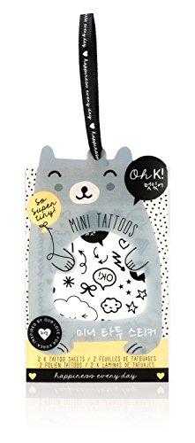 Oh K Korean Mini Temporary Tattoos