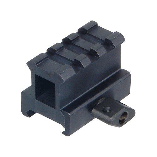 UTG Hi-Profile Compact Riser Mount, 1″ High, 3 Slots