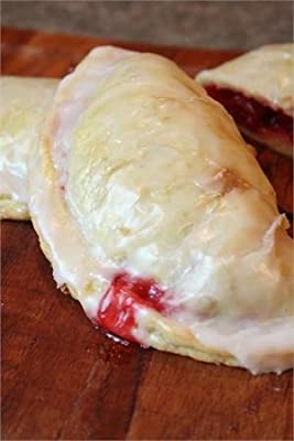 Raspberry Pie Turnover Kit: Dough Press, Pastry Mix, and Raspberry Filling