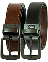 Boys Big Kids Belt - School Casual for Jeans with Reversible Strap