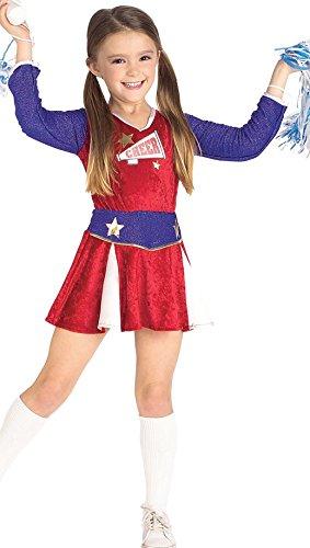 Rubies Cheerleader Child Costume, (Retro School Girl Costume)