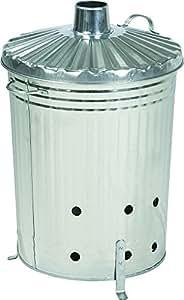 Practo I101 - Incinerador para desechos de jardín/vegetales (100 L)