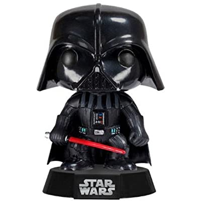 POP: Star Wars Darth Vader Bobble Head Vinyl Figure: Funko Pop! Star Wars:: Toys & Games