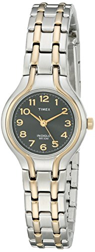 Timex Women's | Two-Tone Case Stainless Steel Bracelet | Dress Watch ()