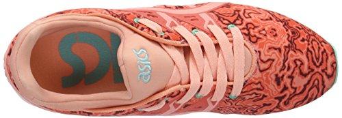 Zapatillas Melba Gel Kayano de Peach Asics Gimnasia Hot Coral Arancione para Mujer Trainer EVO OwfwIU