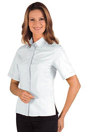 Albicocca Manica Isacco Cotone 35 S Bianco Mezza Poliestere Camicetta 65 19653 Liscio Tessuto Kyoto znB44AqwE