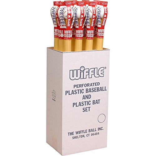 WIFFLE BAT AND BALL COMBO-12 PACK