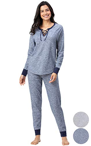 Addison Meadow Cotton Pajamas Women - PJ Sets for Women, Slub Knit