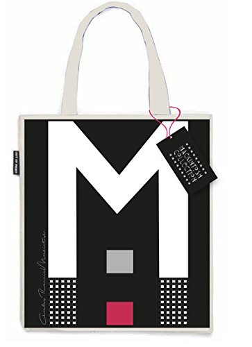 Charles Rennie Mackintosh Giant M Design Small Lunch Book Canvas Tote Bag