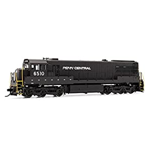 Rivarossi DCC Ready Penn Central #6510 HR2631 General Electric U28C Diesel Locomotive Train