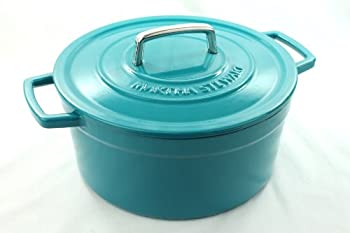 Martha Stewart Collection Cast Iron 6 Qt. Round Casserole