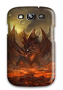 Premium Durable Dragon In The Lava Fashion Hard Diy For Iphone 6Plus Case Cover Protective