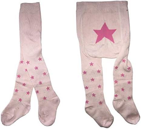 Collant Calzamaglie Neonati Bambina Bimba in Morbido Cotone Calze Prima Infanzia Colorate e alla Moda Set 3 Paia