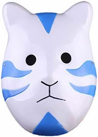 Renineic Naruto Shippuuden ANBU Cosplay Mask Itachi Cat Style Blue