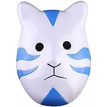Naruto Shippuuden ANBU Cosplay Mask Itachi Cat Style Blue by Renineic