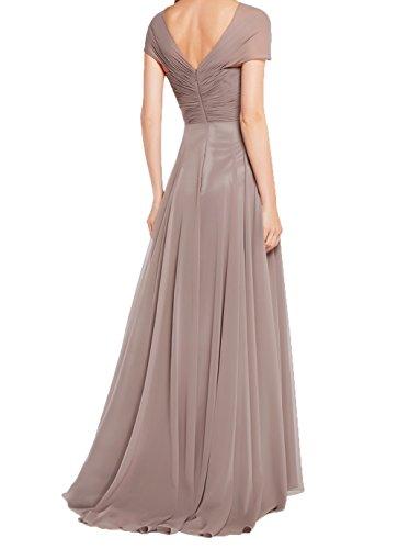 Langes Abendkleider Damen Blau Elegant Ausschnitt A Brautmutterkleider Linie Promkleider Partykleider Charmant Himmel Festlichkleider V IT1wqq8U