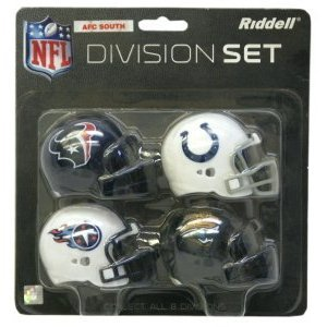 Riddell AFC South Division Pocket Helmet Set