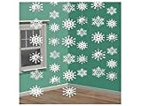 Christmas Snowflake String Foil, 6 Ct. | Party
