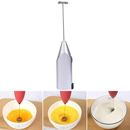 MelysUS Mini Coffee Milk Frother Handheld Battery Operated Electric Milk Shaker Egg Beater Coffee Blender Whip Foamer