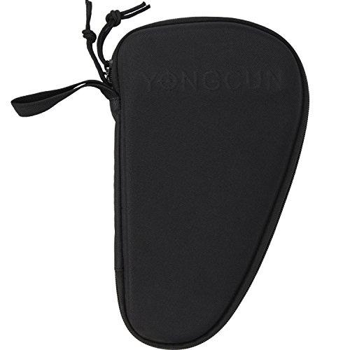 YONGCUN Pistol Hard Bag Pistol Case Pistol Rug Ammo Bag Pistol Tactical Storage Bag Size 10.5inch Black 600 Denier