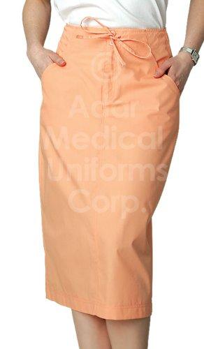 Adar Mid-Calf Length Drawstring Skirt