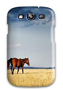 BdZHAuB204ysBuv Tpu Phone Case With Fashionable Look For Galaxy S3 - Horse