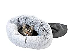 STUFT R2P Group 2410-025 Snuggle Sack Pewter Pet Bed, Small