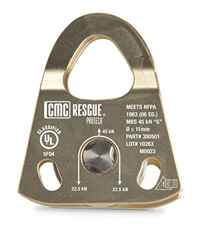 CMC Rescue 300501 PULLEY PROTECH SINGLE